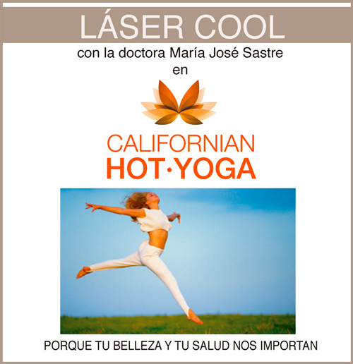 Laser Cool - Doctora Sastre en Californian Hot yoga